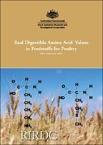 Ileal digestible amino acid values in feedstuffs for poultry