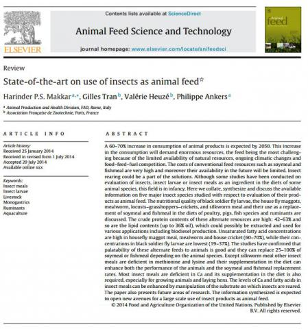 Makkar et al., 2014. Anim. Feed Sci. Technol., 197: 1-33
