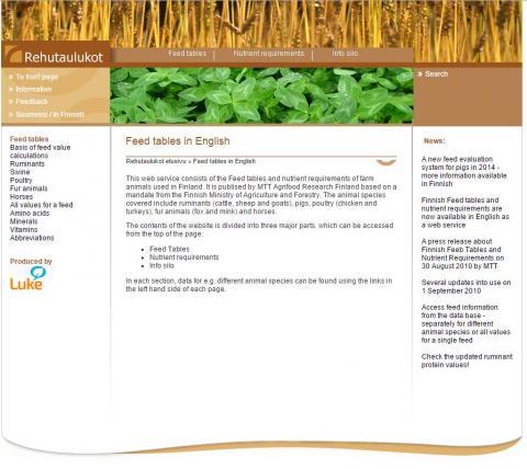 MTT, 2013. MTT Agrifood Research Finland