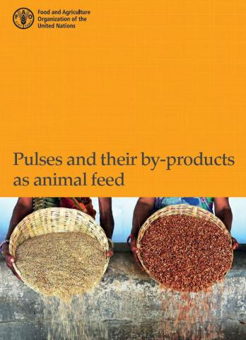 Pulses and their byproducts as animal feed