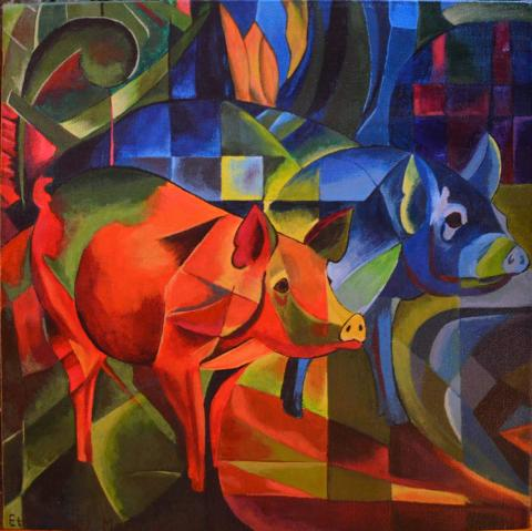 Franz Marc (1913), Wikimedia Commons
