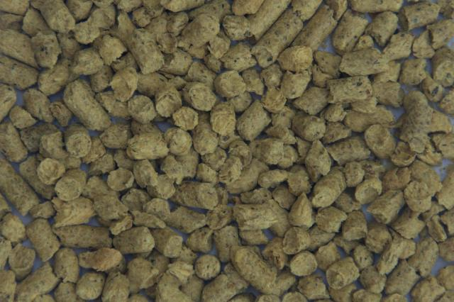 Soybean hulls in pellets