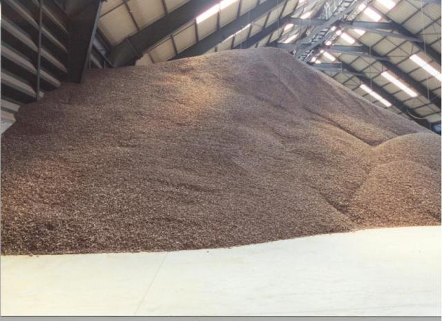 Storage of dehydrated sugarbeet pulp