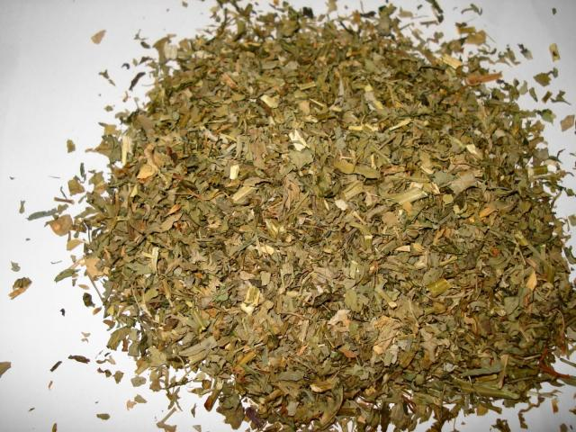 Fenugreek (Trigonella foenum-graecum), dried forage